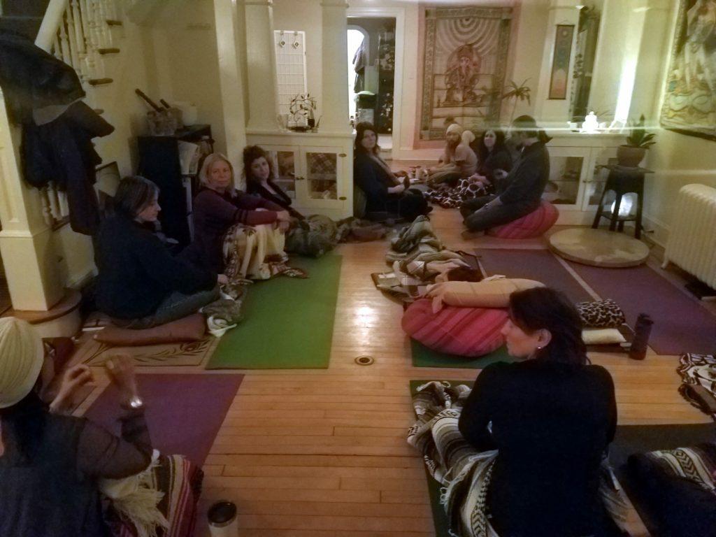 20180128 - Shamanic Journey Circle and Potluck