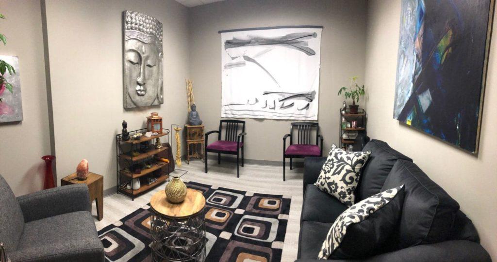 Radikal Healing Suite Sitting Room